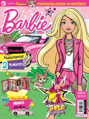 Barbie 5/2016 - kaasas fotoaparaat, juhiload ja autovõtmed-0