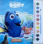 Kalatüdruk Dory. Värvidega raamat-0