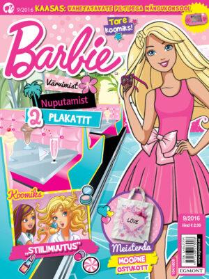 Barbie 9/2016 - kaasas mängukonsool-0