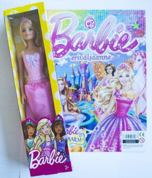 Barbie eriväljaanne 2/2017 - kaasas Barbie nukk-0
