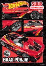 Hot Wheels. Suur värvimisraamat. Gaas põhja!-0