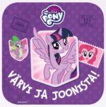 My Little Pony. Värvi ja joonista!-0