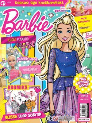 Barbie 2018/01 - kaasas õpilase komplekt-0