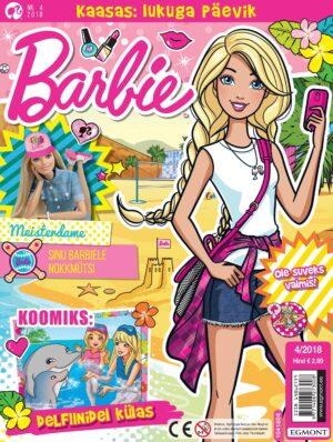 Barbie 2018/04 - kingituseks päeviku komplekt-0