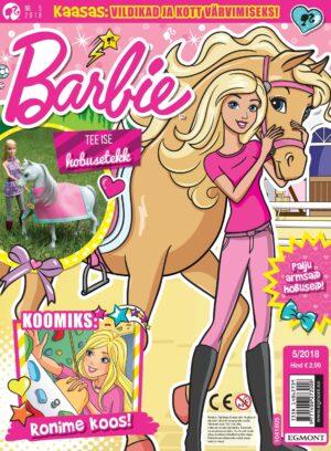 Barbie 2018/05 - kingituseks värvitav käekott-0