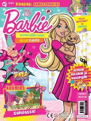 Barbie 2017/10 - kaasas puudel-0