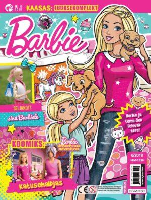 Barbie 2018/06 - kingituseks juuksekomplekt-0