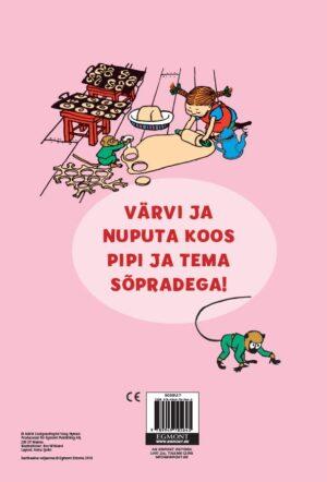Pipi Pikksukk. Nuputa ja värvi!-6999