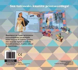 Disney Printsess. Pusleraamat-7020