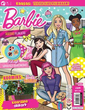 Barbie 2019/02 - kingituseks pildiraam-0