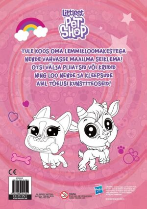 Littlest Pet Shop. Värvimisraamat-7202