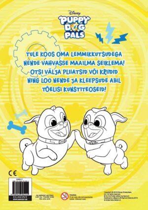 Puppy Dog Pals. Värvimisraamat-7231