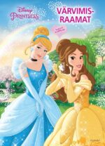 Disney Printsess. Värvimisraamat-0