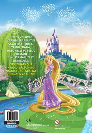 Disney Printsess. Värvimisraamat-7386