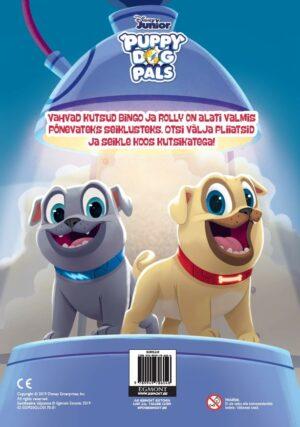 Puppy Dog Pals. Värvimisraamat kleepsudega-7431