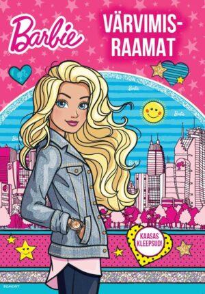 Barbie. Värvimisraamat kleepsudega-0