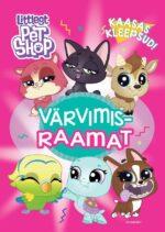 Littlest Pet Shop. Värvimisraamat kleepsudega-0