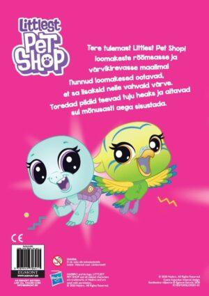 Littlest Pet Shop. Värvimisraamat kleepsudega-7584