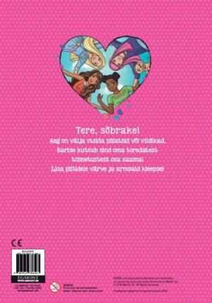Barbie. Värvi ja kleebi!-7677