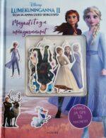 Lumekuninganna 2. Elsa ja Anna uued seiklused. Magnetitega mänguraamat-0