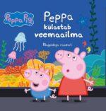 Põrsas Peppa. Peppa külastab veemaailma. Klappidega raamat-0