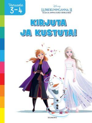 Lumekuninganna 2. Elsa ja Anna uued seiklused. Kirjuta ja kustuta-0