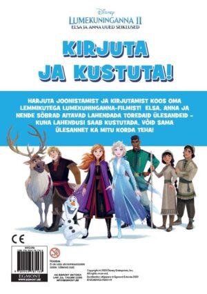 Lumekuninganna 2. Elsa ja Anna uued seiklused. Kirjuta ja kustuta-7911